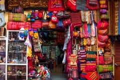 Parada del mercado en Bolivia Fotografía de archivo