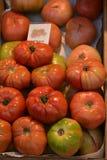 Parada del tomate foto de archivo libre de regalías