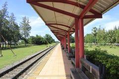 Parada del tren Imagen de archivo