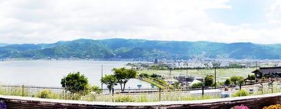 Parada do ônibus na loja de lembrança em Gifu Imagem de Stock Royalty Free