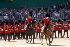 A parada do aniversário das rainhas. Imagens de Stock
