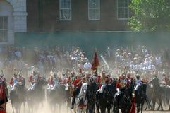 A parada do aniversário das rainhas. Fotografia de Stock