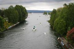 Parada do barco da primeira jornada Imagens de Stock Royalty Free
