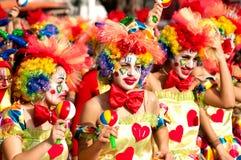 Parada do carnaval de Limassol, março 6, 2011 Foto de Stock