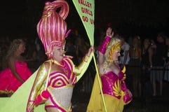 Parada do carnaval em Sydney fotos de stock