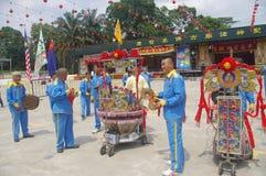 Parada do chinês de Chingay fotos de stock