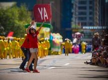 Parada 2018 do debandada de Calgary Imagem de Stock Royalty Free
