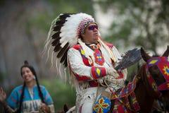 Parada 2018 do debandada de Calgary Fotografia de Stock Royalty Free