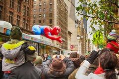 Parada do dia da ação de graças de Macy Foto de Stock Royalty Free