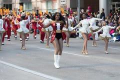 Parada do dia da ação de graças de H-E-B Fotografia de Stock
