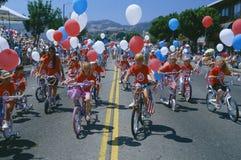 Parada do Dia da Independência Fotografia de Stock