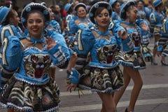 Parada do Dia da Independência de Bolívia Fotos de Stock
