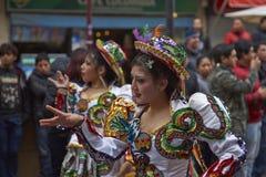 Parada do Dia da Independência de Bolívia Imagem de Stock Royalty Free