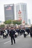 Parada do Dia da Independência de Malásia 57th Imagens de Stock Royalty Free