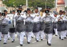 Parada do Dia da Independência de Malásia 57th Imagens de Stock
