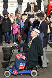 Parada do dia da relembrança, 2012 Fotos de Stock Royalty Free