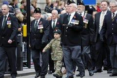 2015, parada do dia da relembrança, Londres Imagens de Stock Royalty Free