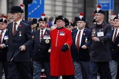 2015, parada do dia da relembrança, Londres Fotos de Stock