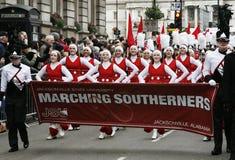 Parada do dia de ano novo em Londres Fotografia de Stock Royalty Free