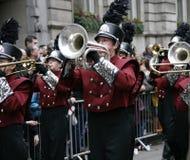Parada do dia de ano novo em Londres Foto de Stock