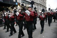 Parada do dia de ano novo em Londres Imagens de Stock Royalty Free