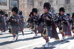 Parada do dia de Patrick de Saint Imagem de Stock Royalty Free