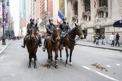 Parada do dia de Patricks de Saint em New York Foto de Stock
