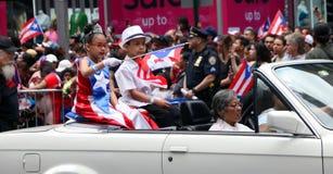 Parada do dia de 2018 porto-riquenhos Fotos de Stock Royalty Free
