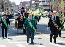 Parada do dia de St Patrick Foto de Stock