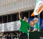 Parada do dia de St Patrick Fotos de Stock