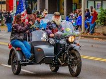 Parada 2016 do dia de veteranos Imagens de Stock
