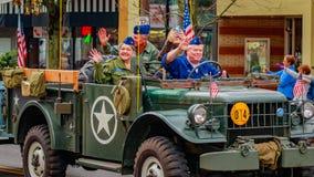 Parada 2016 do dia de veteranos Fotos de Stock Royalty Free