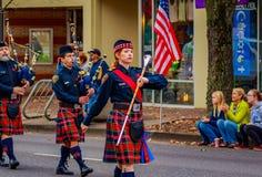 Parada 2016 do dia de veteranos Foto de Stock Royalty Free