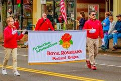 Parada 2016 do dia de veteranos Imagens de Stock Royalty Free