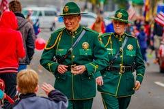 Parada 2016 do dia de veteranos Fotos de Stock