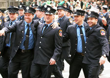 Parada do dia do St. Patrick imagens de stock royalty free