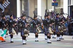 Parada do dia do St. Patrick Fotografia de Stock Royalty Free