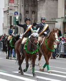 Parada do dia do St Patrick Fotos de Stock Royalty Free