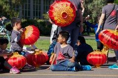Parada do dia do UC Davis Picnic fotografia de stock royalty free