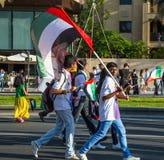 Parada do dia nacional dos UAE Imagens de Stock