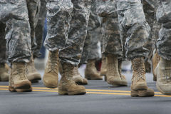 Parada do exército Imagem de Stock