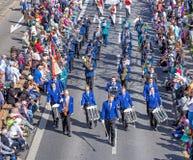 Parada do feriado da mola em Zurique, Suíça Fotografia de Stock Royalty Free