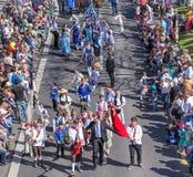 Parada do feriado da mola em Zurique, Suíça Fotos de Stock