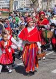 Parada do feriado da mola em Zurique, Suíça Imagem de Stock Royalty Free