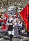 Parada do feriado da mola em Zurique, Suíça Fotografia de Stock