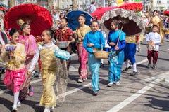 Parada do feriado da mola em Zurique, Suíça Imagens de Stock Royalty Free