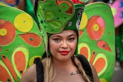 Rotterdam Summer festival 2019 parade - Butterfly queen