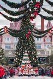 Parada do Natal de Disney Fotos de Stock Royalty Free