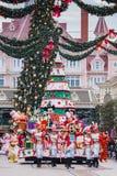 Parada do Natal de Disney Foto de Stock Royalty Free