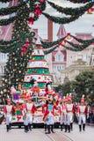 Parada do Natal de Disney Fotos de Stock